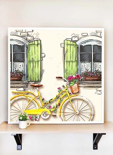 Tablo Bisiklet C - 65*65 Cm -The Mia